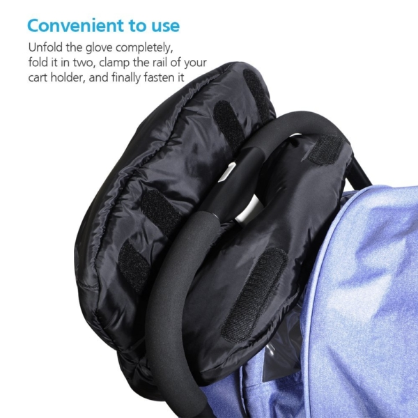 Viciviya Baby Stroller Hand Muff, Pushchair Pram Winter Warmer Anti-freeze Waterproof Windproof Cover Gloves Baby Stroll